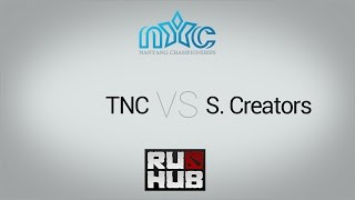 TnC vs ScT, game 1