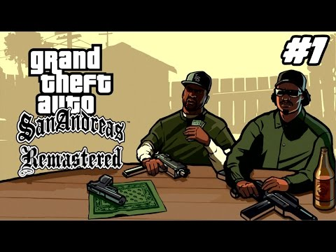 [GTA San Andreas Remastered] #1 - Le Retour De CJ !