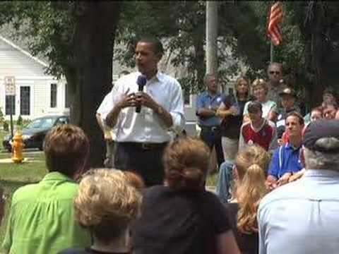 Barack in Iowa: Webster City Potluck