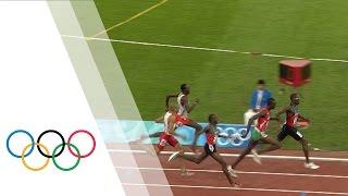 Wilfred Bungei wins Men's 800m Olympic final | Beijing 2008