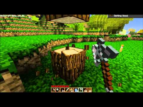 Let's Play Minecraft Beta! - 086 - Achievement Hunter! (ctye85)