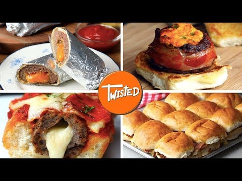 8 Best Burger Recipes | Delicious Sliders | Twisted