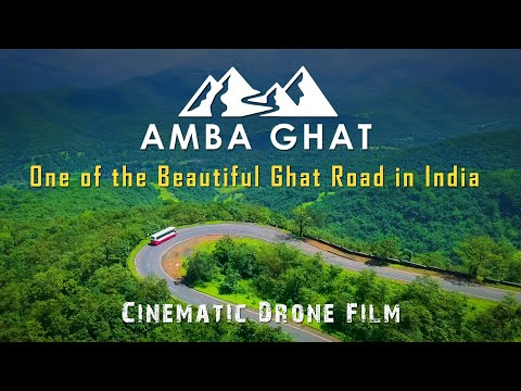 AMBA GHAT - One of the Beautiful Ghat Road in India | Cinematic Drone Film