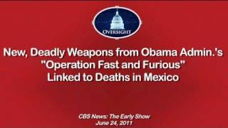 Nonton CBS News: Deadly Weapons from Operation Fast & Furious Linked to Deaths in Mexico Film Subtitle Indonesia Streaming Movie Download