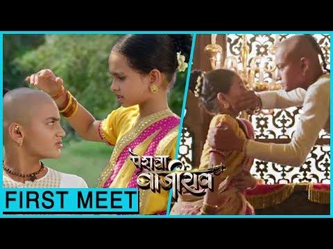 Bajirao Meets Kashi For The First Time | Peshwa Ba