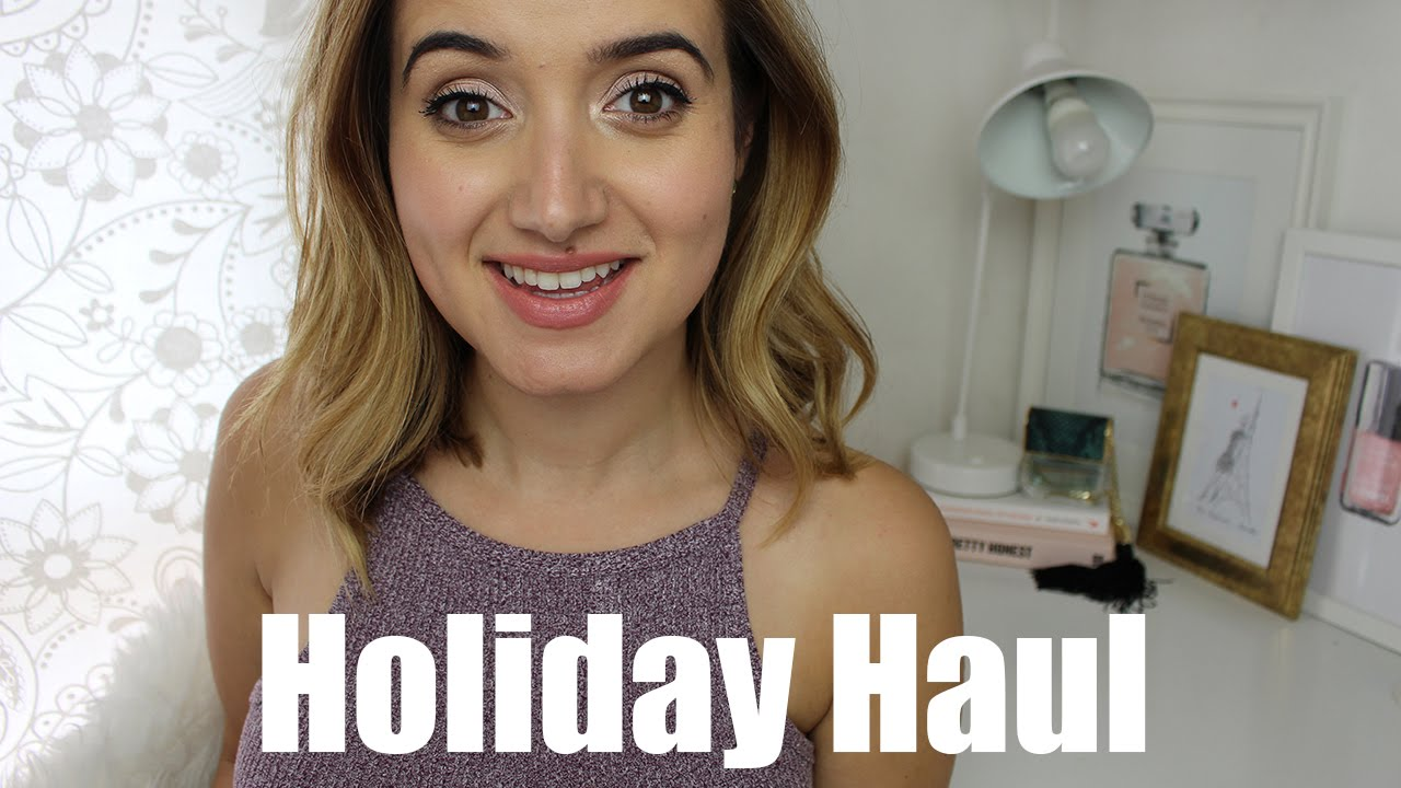 Holiday Haul- Fashion & Beauty | A Little Obsessed