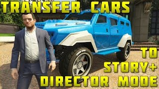 In this video, I show you how to transfer vehicles from the content creator to story mode so you can mod, store and use them in both story mode and director mode.  This also includes Heist, Felony and otherwise unobtainable vehicles.Please note: You can NOT use this glitch to make money for your story mode characters and you can NOT transfer the vehicles to online.LIKE and SUBSCRIBE for more tutorials.Wishing you all the very best.Check out these channels:SCRUFFY_JC: https://www.youtube.com/c/SCRUFFYJCPAPLOO968: https://www.youtube.com/user/paploo968vaughanyl: https://www.youtube.com/user/vaughanyl