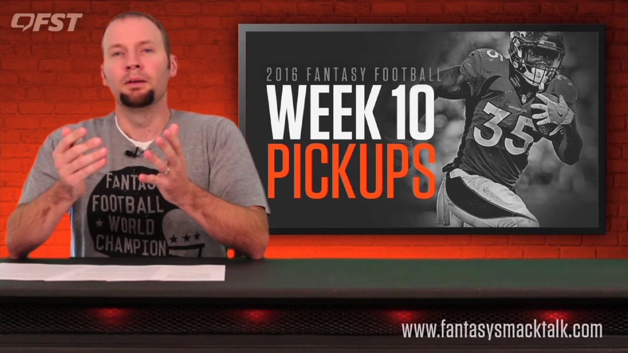 Fantasy Football: Week 10 Waiver Wire thumbnail