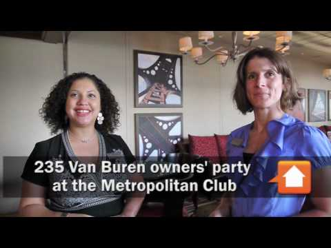 A 235 Van Buren owners' party at the Metropolitan Club