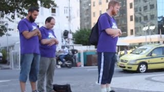 Praying on the Street, Brazil World Cup Day 23