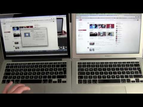 apple macbook air - http://techsloth.com Retina MacBook Pro vs MacBook Air Here we go, the final Apple Laptop comparison Retina MacBook Pro vs MacBook Air. Dual Core i5 Power, S...