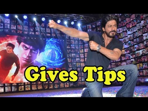 Shah Rukh Khan Gives Tips How To Be A Fan!