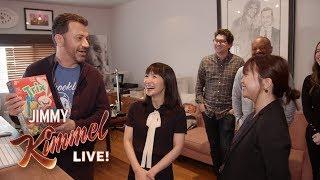 Marie Kondo Helps Jimmy Kimmel Tidy Up