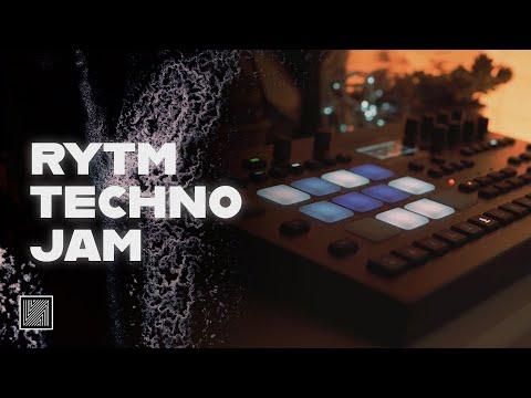 Analog Rytm mk2 Only Techno Jam 2 #jamuary