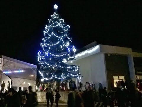Rozsvěcení vánočního stromu Milovice 2017