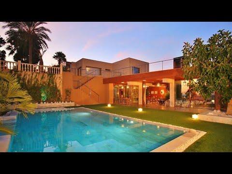 Эксклюзивная вилла на 1 линии моря в Испании/Элитная недвижимость на Коста Бланке/Дом Премиум/Люкс