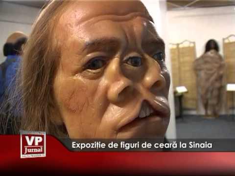 Expoziţie de figuri de ceară la Sinaia