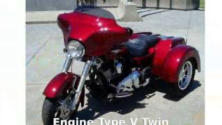 6. 2010 Harley-Davidson Trike Tri Glide Ultra Classic - Features