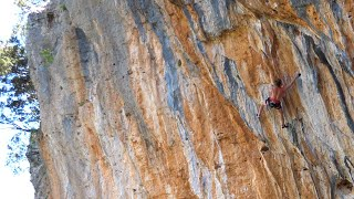 Baum des Lebens 8b / 5.13d (Leonidio, Greece) Uncut Ascent by Mani the Monkey