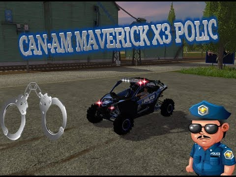 Can-Am Maverick X3 police v1.0