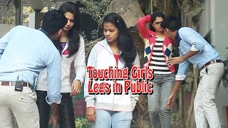 Video Touching Girls Legs in Public Prank - Prank in India | THF - Ab Mauj Legi Dilli | MP3, 3GP, MP4, WEBM, AVI, FLV September 2018
