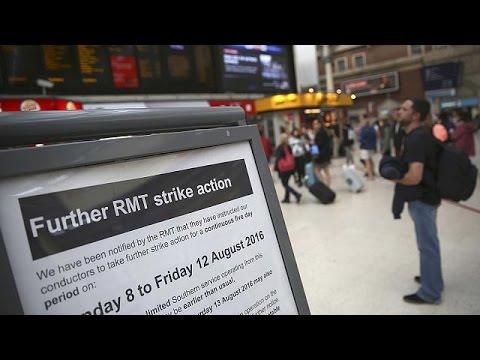Βρετανία: 5νθήμερη αναστάτωση από την απεργία στα τρένα