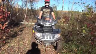 8. rzr 850  arctic cat trv 700 searching for the titty hills