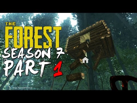 The Forest Alpha 0.07 Update (Season 7 Episode 1) - TREE HOUSE HYPE! + NEW ANIMALS!