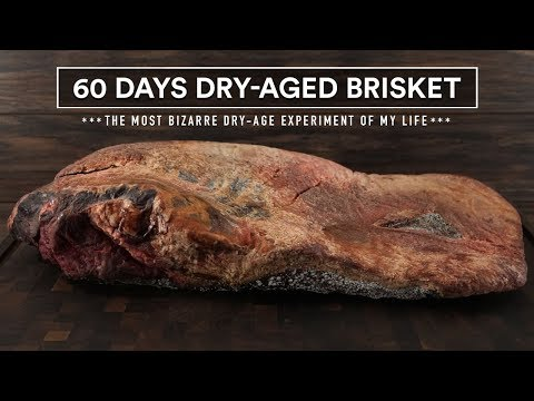 60 Days DRY-AGED BRISKET Experiment   GugaFoods