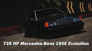 9. Extreme Offroad Silly Builds - 1990 Mercedes-Benz 190E Evolution II (Forza Horizon 3)