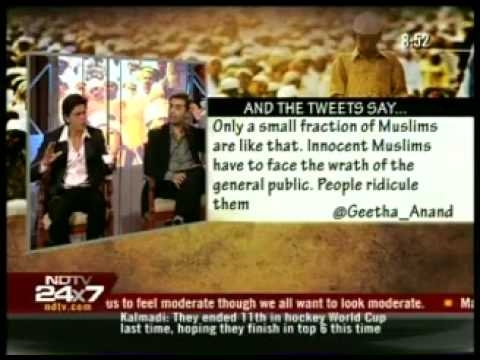 7.Dr. Zakir Naik, Shahrukh Khan, Soha Ali Khan On NDTV With Barkha Dutt