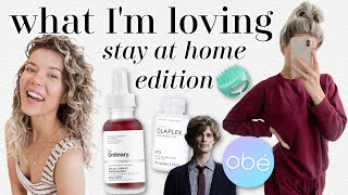 what I'm loving: home workouts, curly girl method, sweatsuits & more by Meghan Rienks
