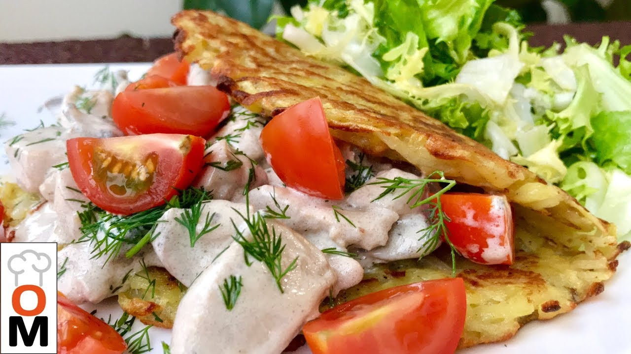 Гигантские Драники с Мясом и Грибами, Это Станет Вашим Коронным Блюдом | Potato Pancake