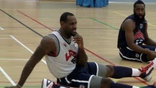 USA Basketball Jokes + James Harden Trick Shot