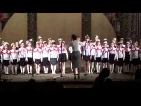Отчетный концерт 19.04.2011 часть 1
