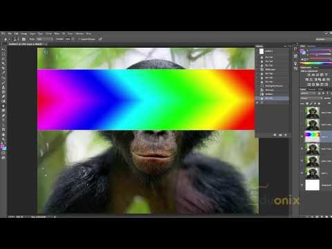 Adobe Photoshop Tutorial 33 - Blur Sharpen and Smudge