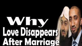 What Keeps Marriage Alive | Mufti Menk & Nouman Ali khan | Important Tips