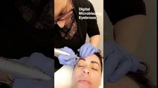 Digital Microblading Procedure- Eyebrows