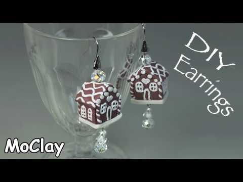 fimo - casetta di marzapane in miniatura