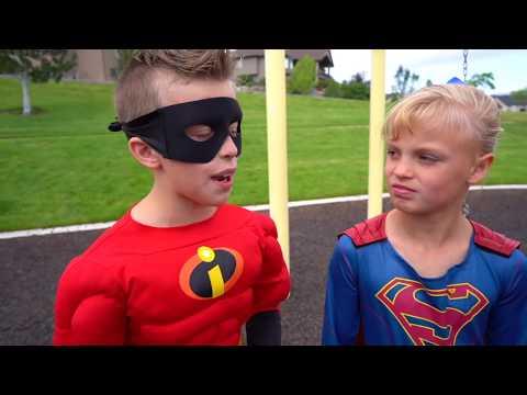 Dash vs The Flash!