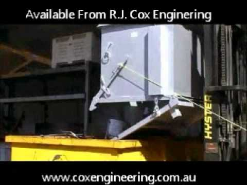 Forklift Waste & Storage Tipping Bins Video Image
