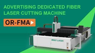 Direct factory selling cheap CNC brass steel cutting 3KW MAX FMA 4020 fiber laser cutting machine youtube video