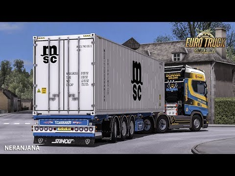 Ownable Truckskill Container Trailer v1.0