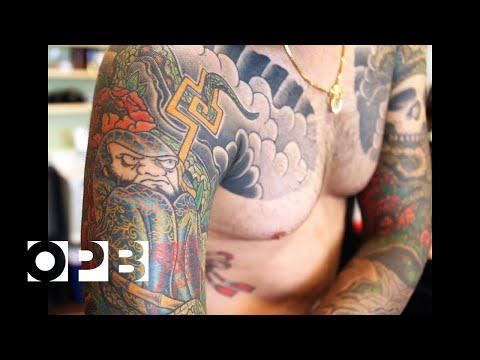 Traditional Japanese Tattoo Artist Horisuzu
