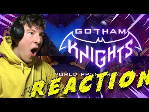 BATMAN GOTHAM KNIGHTS Official World Premiere Trailer REACTION!!!