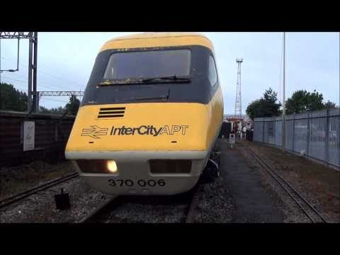 APT at Crewe - Complete Walkthrough Train and Photos