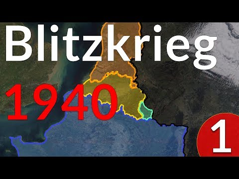 How Did Germany Defeat France In 1940? Part 1 (Historigraph 1)