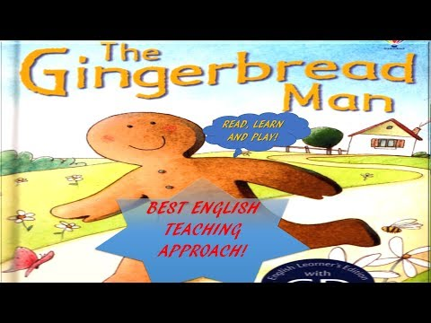 The gingerbread man | Read, Learn and Play