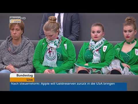 Bundestagsdebatte zum Thema Gesunde Ernährung am 18.01. ...