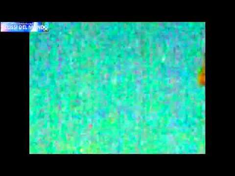 ripresa amatoriale di una flotta ufo in israele